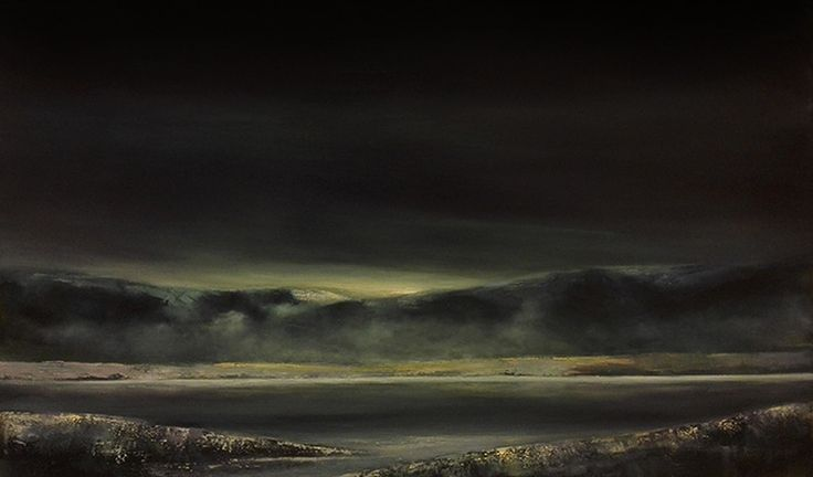Paintings by Frode Holst in oil and acrylic