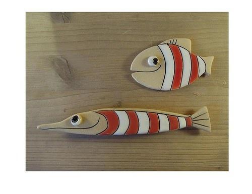 Proužky se nosí pod vodou - rybky magnet