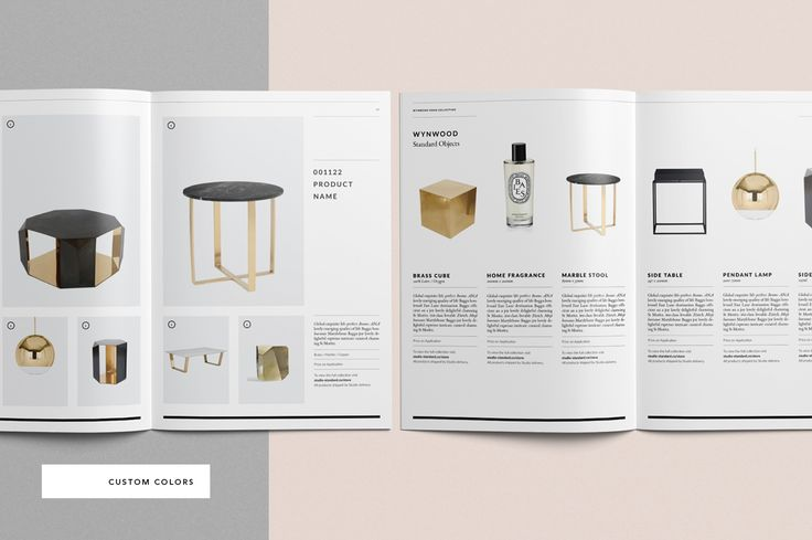 Wynwood Catalog by Studio Standard on @creativemarket
