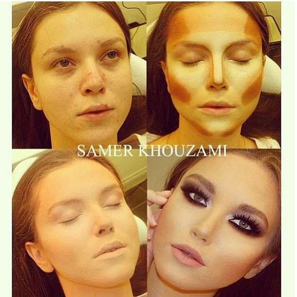 samer khouzami metamorfose make up