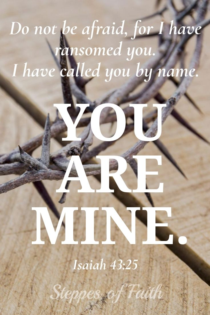 Your salvation by His grace assures that you belong to Him and His family. He knows your name. He knows you personally, and He loves you more than you could ever imagine. You are His child for eternity. #God #bible #love #salvation