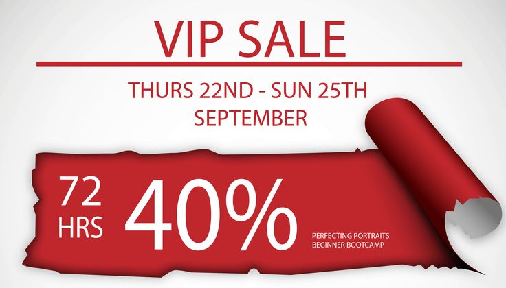 Jump on the VIP list to be notified of our 72 Hour Flash Sale happening 22nd-25th Sept! Become a VIP here --> http://bit.ly/vip-72hour