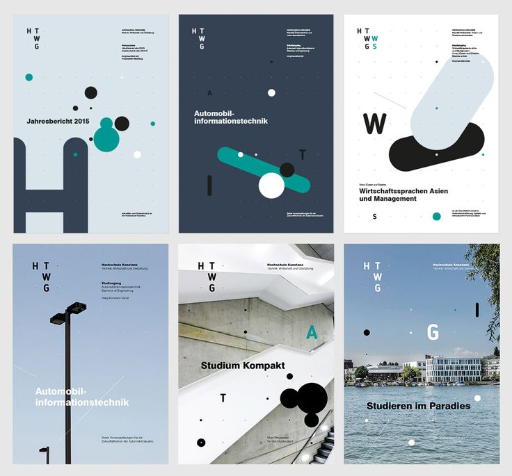 New Logo and Identity for HTWG by think moto