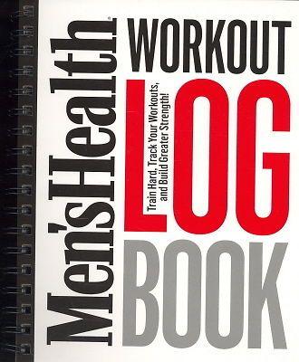 Mens Health Workout Log Book