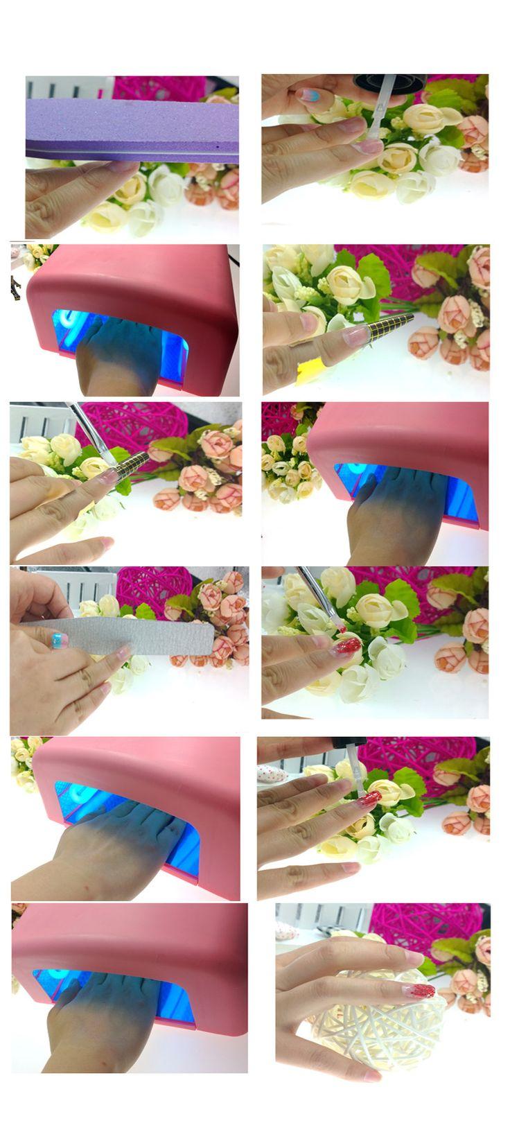 100 шт. ногти уф гель расширения стикер ногтей профессиональные акриловые ногтей формы акриловый советы уф гель расширения лак для ногтей скручиваемость купить на AliExpress