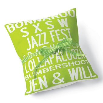 Music-inspired ring pillow, by Uptown Artworks; Photo by Diane Fields: Bearing Ideas, Ring Pillows, Wedding Styles, Wedding Ideas, D Cor Ideas, Cute Ideas, Music Themed Weddings, Idea Music Inspired Ring