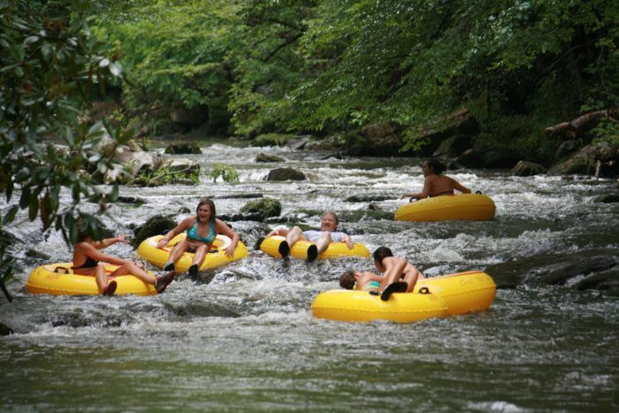 There's Nothing Better Than North Carolina's Natural Lazy River On A Summer's Day