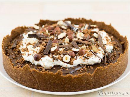 Шоколадный пирог «Грязь Миссисипи» — 13 шаг