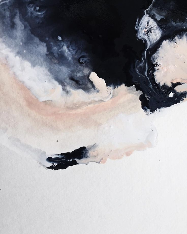 Blush and navy abstract art