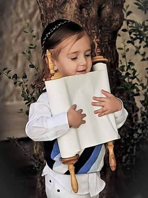 How adorable. God bless all the Israeli children.