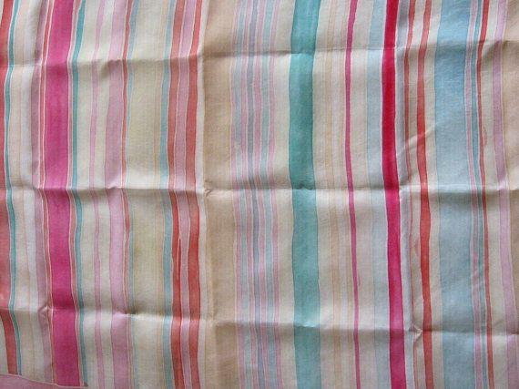 Handpainted Pastel Scarf silk in stunning @PumpjackPiddlewick on Etsy