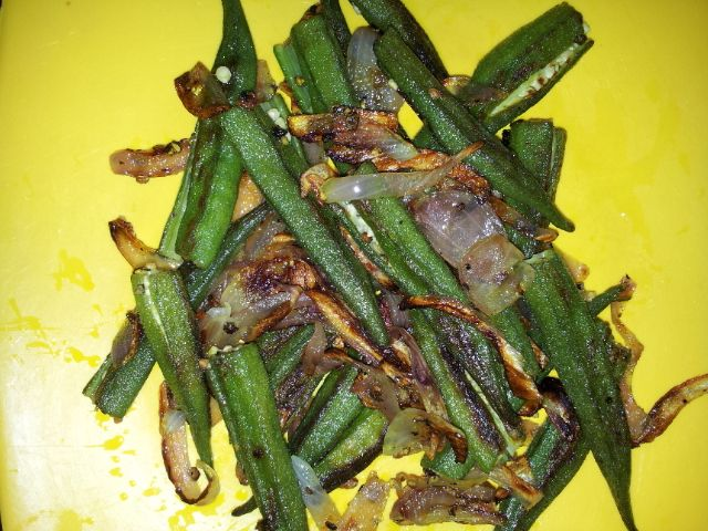 40 best sunitas kitchen images on pinterest chinese food pepper bhindi fry forumfinder Image collections