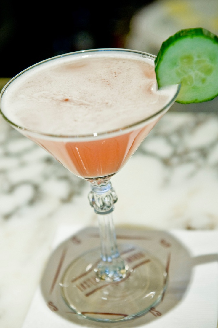 """Jackson Cannon of Eastern Standard wanted to serve a mocktail that was neither soda-driven nor a supersweet """"juice bomb."""" The result: this savory take on a cosmopolitan."""