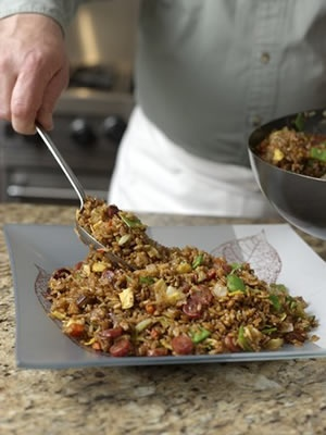 143 best our favorite recipes images on pinterest grilled pizza the culinary institute of america food enthusiasts fried rice with chinese sausage forumfinder Choice Image
