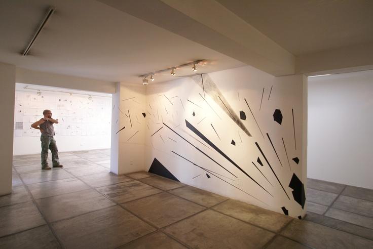 mural in gallery