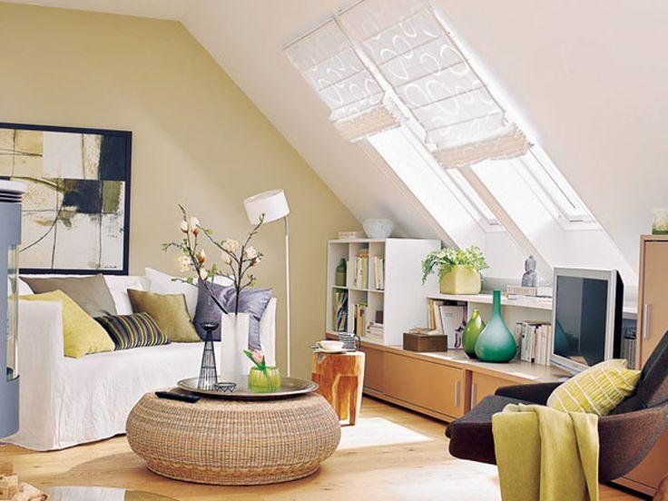 40 best Inspirationen für die Dachgeschosswohnung images on - wohnideen 40 qm