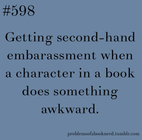 16 Awkward Situations for Book Lovers to Be In