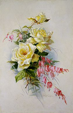 Bouquet Of Roses - Paul de Longpre