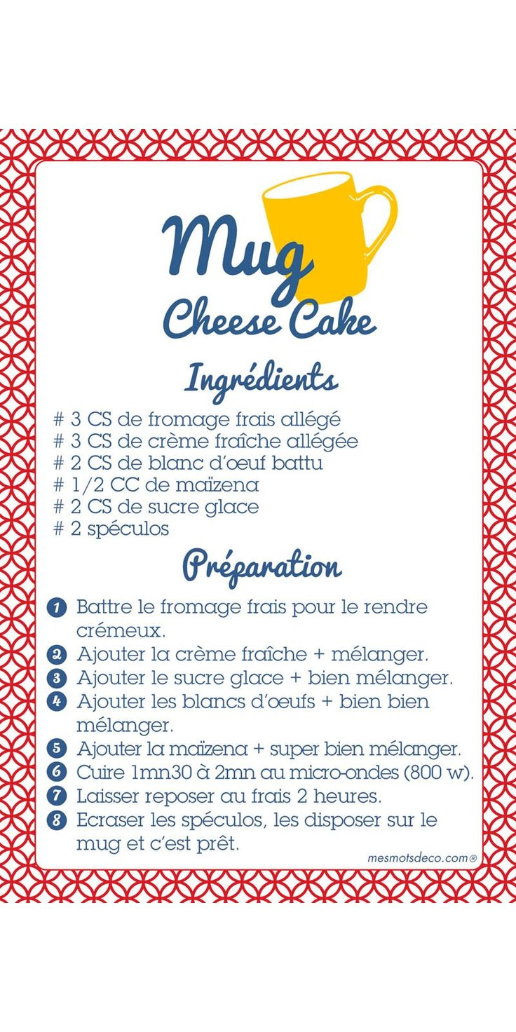 MUG-Cheese Cake