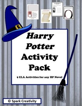 Harry Potter: 9 No-Prep ELA Activities Perfect for any Harry Potter NovelIn this packet, you'll find nine creative Harry Potter activities ready to print and bring to class. With no prep besides a visit to the photocopier, you'll find your unit plan filled in easily with these fun printable.