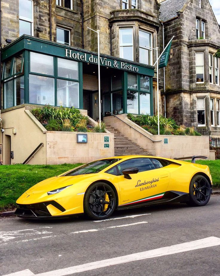 Hotel Du Vin St Andrews  Lamborghini