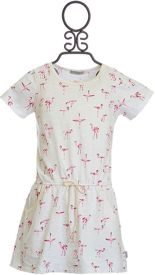 Sticky Fudge T-Shirt Dress with Flamingos