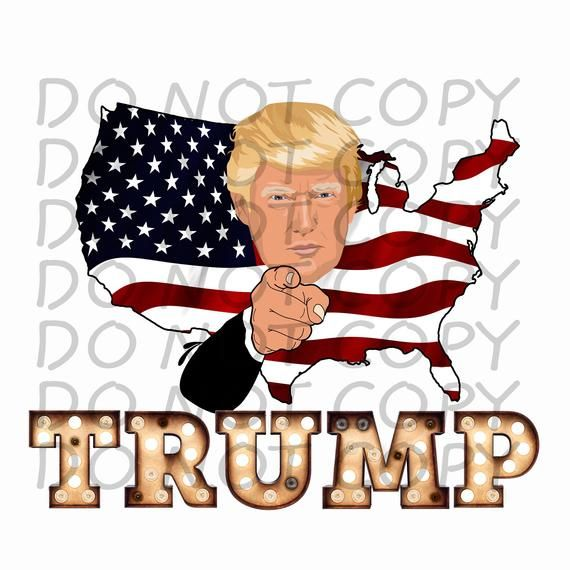 Trump With Us Outline Sublimation Png Digital Download Etsy Digital Download Etsy Digital Design Sublime