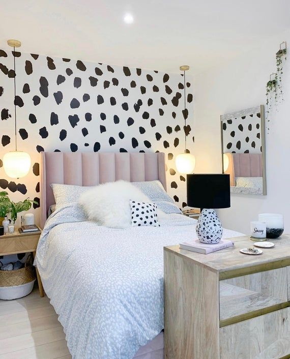 Best Spotty Dalmatian Large Wall Mural Dots Peel And Stick 400 x 300