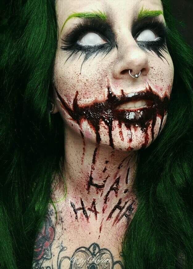 best 25 horror makeup ideas on pinterest gesicht schminken horror halloween make up scary. Black Bedroom Furniture Sets. Home Design Ideas