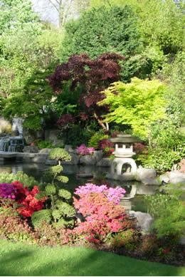 Holland Park  is one of London's hidden gems, bordered by some of London's most prestigious streets, in fashionable Kensington, more into here