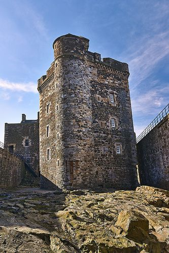 Blackness Castle, Scotland, built by Sir George Crichton in the 1440s