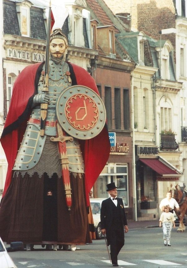 Les Fetes de Gayant, Douai, France