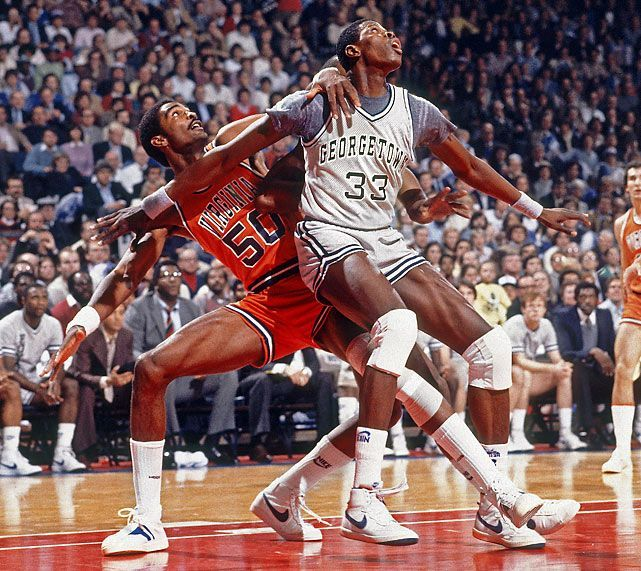 Patrick Ewing and Ralph Sampson
