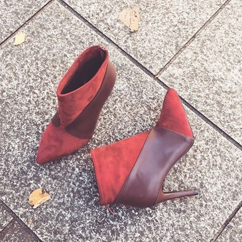 Hello autumn  #vices #boots #winered #newcollection #fall #autumn #street #style #instapic #instalike