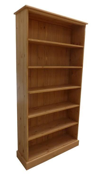 Handmade pine bookcase.