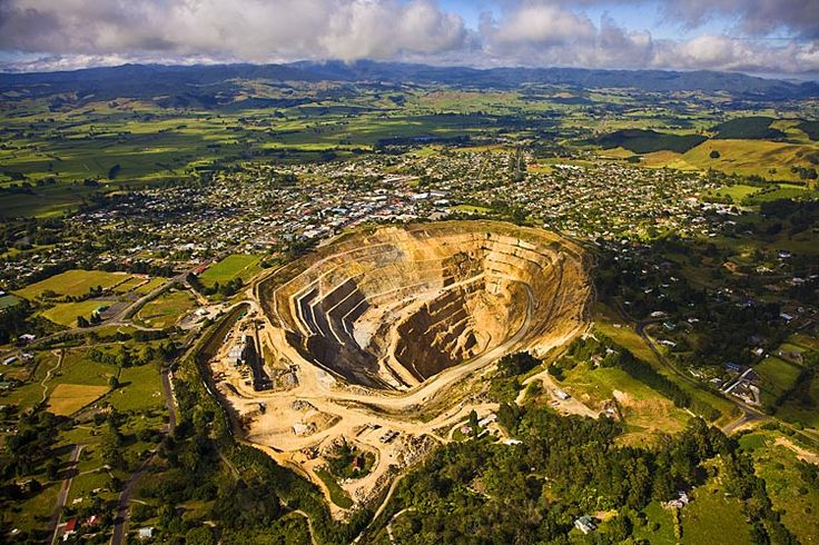 Waihi, and the, Martha gold mine, near the town centre, see more at New Zealand Journeys app for iPad www.gopix.co.nz