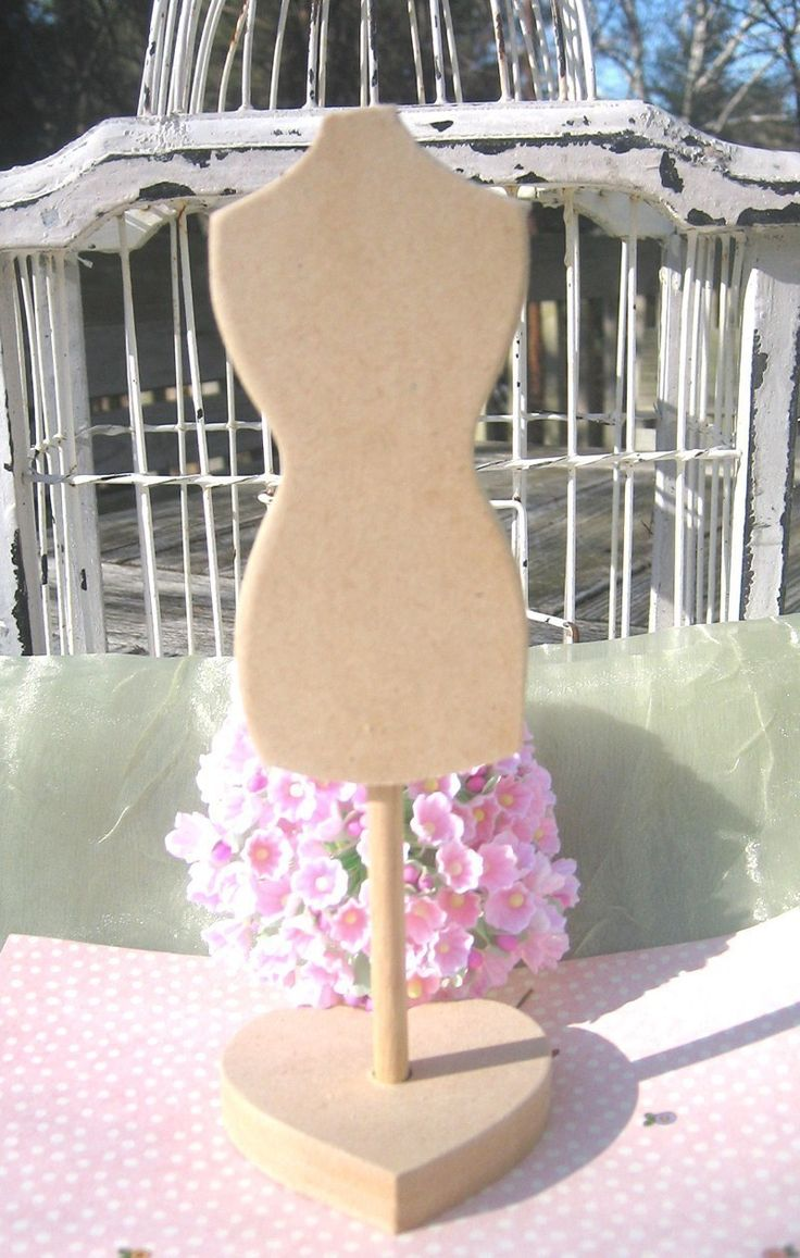 Dress Form New And Improved Mdf Wood Cut Out Diy Mannequin