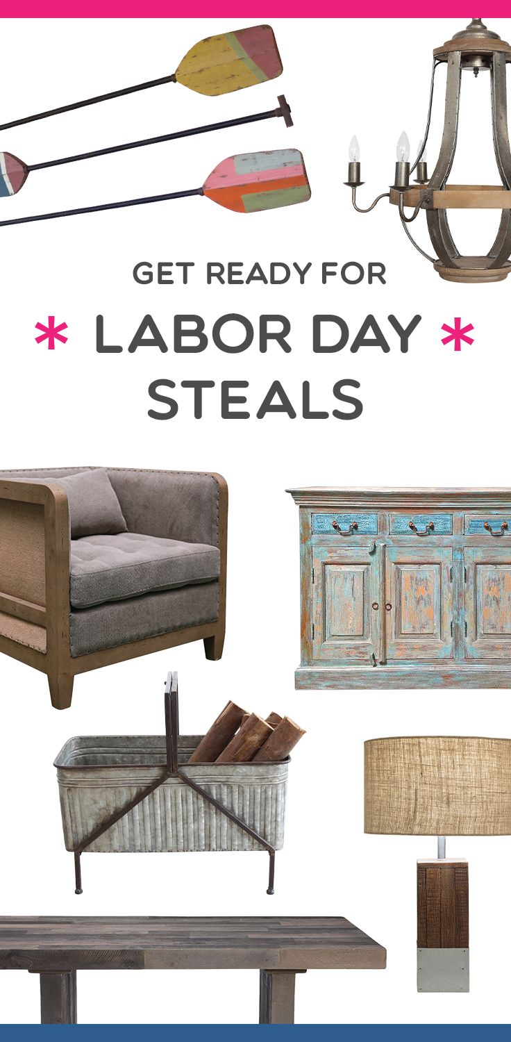 17 best images about decorating on pinterest paint for Labor day weekend furniture sales