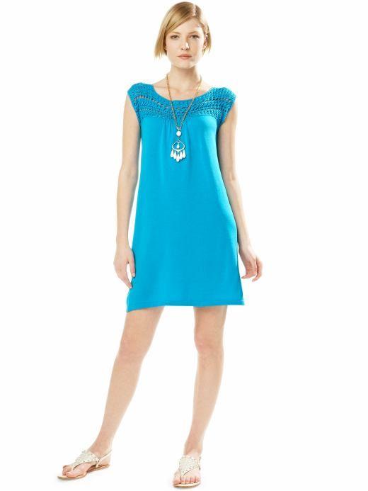 ABC Knitting Patterns - American Girl Doll Yoke Skirt.