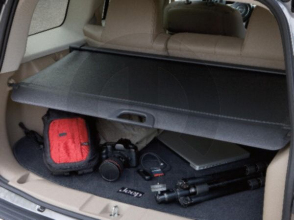 Jeep Patriot 2011 Cargo Area Security Cover In Slate 124