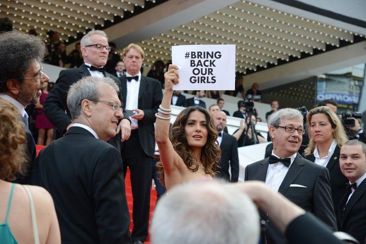 Salma Hayek, montée des marches 67ème Festival de Cannes au Palais des Festivals ©Traverso/Palais des Festivals et des Congrès de Cannes