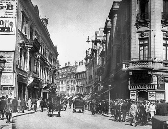 poze desktop Poze vechi Bucuresti, pe calea Victoriei, iulie 1930