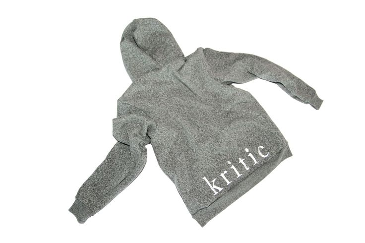 Rue The Label - Embroidered Kritic Hoodie
