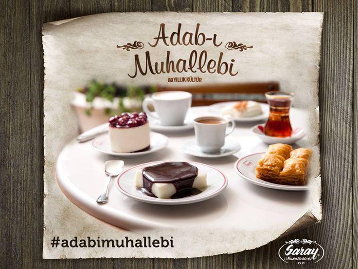 Adab-ı Muhallebi; orijinal tariflerine sadık kalınarak hazırlanan tadlardır.