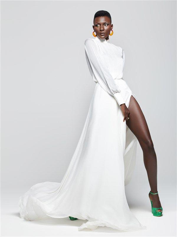 Paris-based Ivorian-Lebanese fashion designer ELIE KUAME celebrates femininity with glamorous couture fashion line - AFROPUNK