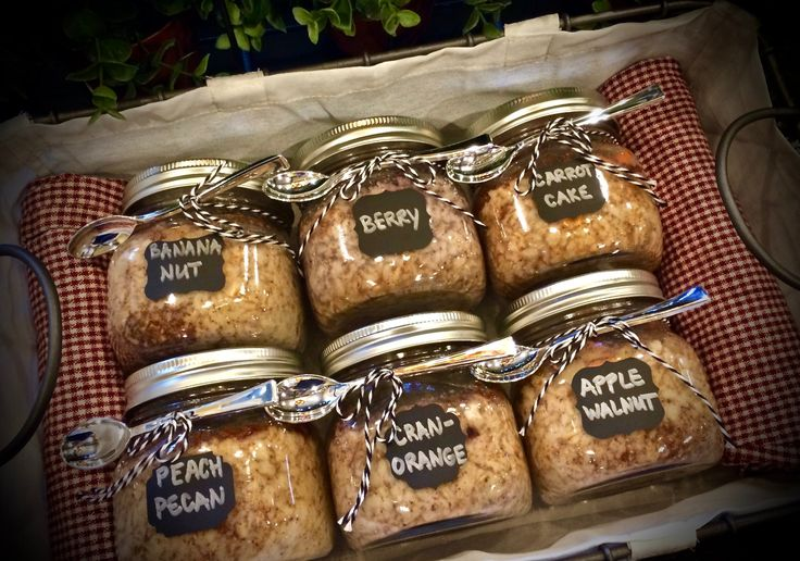 OATMEAL STEAMED IN THE JAR- Take this HOT breakfast with you!