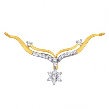 Aditi #Gold #Diamond #mangalsutra