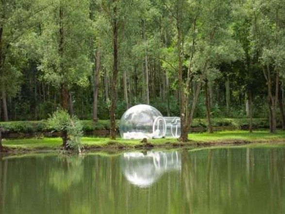 You Can Live In A Bubble The Crystal Bubble Flats
