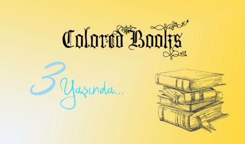 Colored Books: ~3 Yıl Dönümü Çekilişimiz Başlasın~