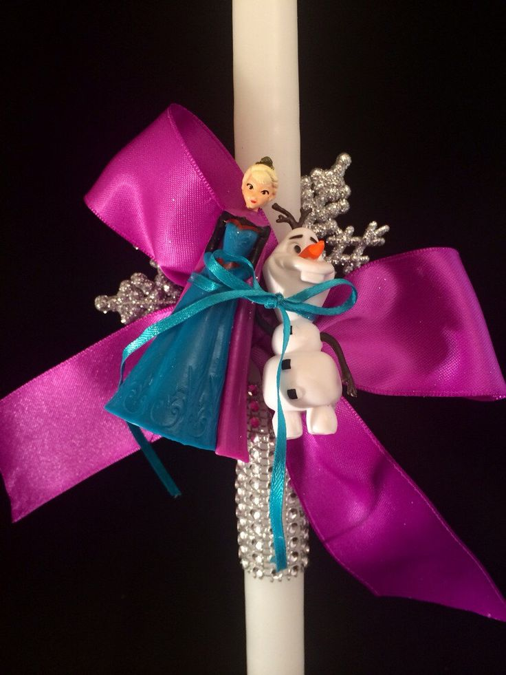 A personal favorite from my Etsy shop https://www.etsy.com/listing/220323224/frozen-elsa-olaf-greek-orthodox-easter